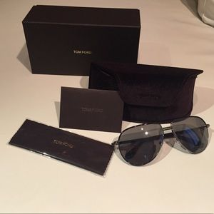 Tom Ford Accessories - Tom Ford Authentic Aviator Sunglasses
